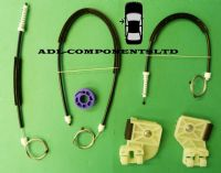 VW POLO MK4 IV Window Regulator Repair Kit Front Left Door 2001-2009 Volkswagen